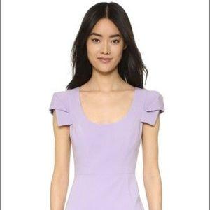 Black Halo Amelie Sheath Dress NWT Lavender